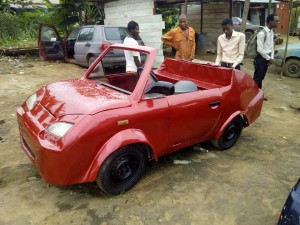 UNIVERSITY OF PORTHARCOURT STUDENTS BUILD MOTOR CAR. VIEW PHOTOS