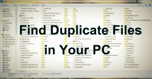 How to Find Duplicate Files Using Duplicate Files Finder